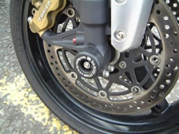 R&G motorcycle Front Fork Protectors Black for Suzuki GSXR