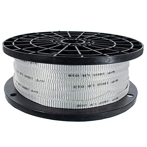 West Coast Paracord -Woven Polyester Cable Pulling Tape - Multiple Widths - Used for Wire and Cable Work (5/8 inch, 500 feet)
