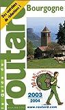Guide du routard. Bourgogne. 2003 par Guide du Routard