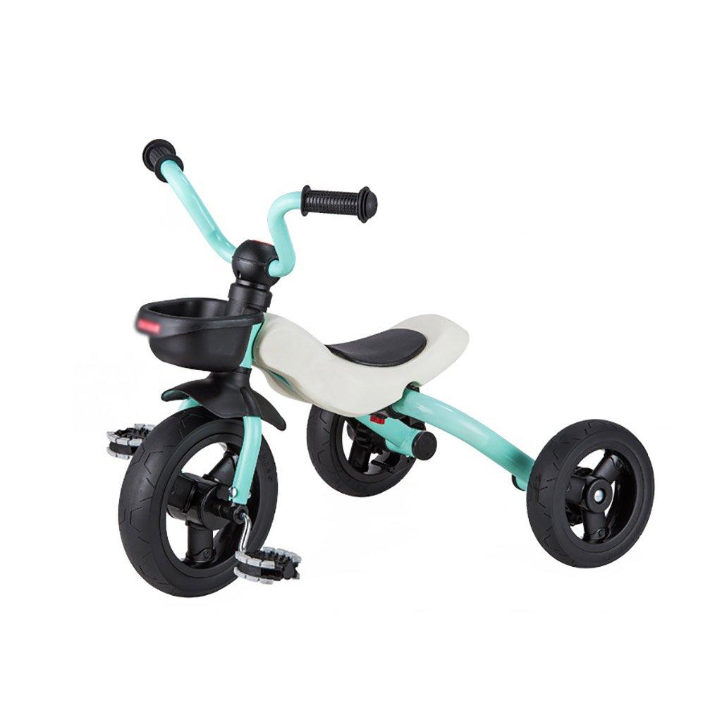 子供用トライク、三輪車の乗り物バイク、赤ちゃんの滑り自転車、おもちゃの自転車、自転車の子供、フットペダルの3つの車輪 (色 : B) B07FGCRZ2K B B
