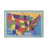 U.S.A. Map Educational Placemat