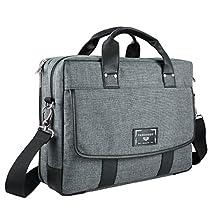 Twill Bag, Back To School Protective Shoulder Messenger & Shoulder Bag [Large] for University Collage High School, Elementary, Middle School