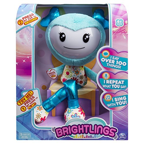 Brightlings Interactive Singing Talking Spin 15 Master Plush Teal by Spin [並行輸入品] Master [並行輸入品] B0741BRK1P, SanAlpha(サンアルファ):6704a084 --- infinnate.ro