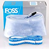 Road Bike Inner Tube Explosion-Proof Bicycle Tire for FOSS Mountain Bike Blue 650B28-38C FC