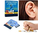 UNKE Stop Smoking Smoke Ear Auricular Therapy Magnets
