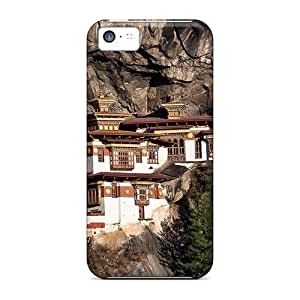 New Awesome Monastery On A Cliff Tpu Case Cover, Anti-scratch ZkH9560Jwtj Phone Case For Iphone 5c
