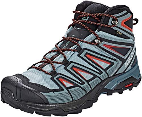 Salomon Men's X Ultra 3 Mid GTX Boots Lead/Stormy Weather/Bossa Nova 12