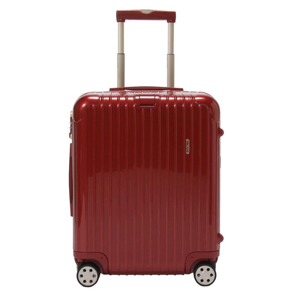 [ リモワ ] RIMOWA 【4輪】 サルサ デラックス スーツケース マルチ 873.56 87356 【Salsa Deluxe 】 Multiwheel Orient Red オリエント レッド 47L (830.56.53.4) [並行輸入品] B0076T8MRQ