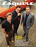 Esquire Magazine (Summer, 2019) The Wild Bunch Brad Pitt Leonardo DiCaprio and Quentin Tarantino