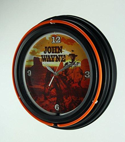 John Wayne Neon Clock – You ll Enjoy It, Pilgrim