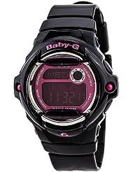 Casio Black Baby G Pink Digital Dial