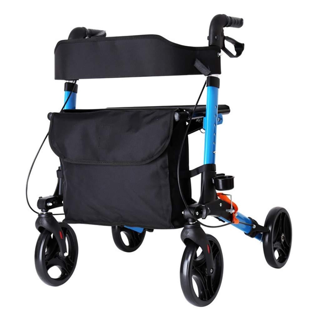 HYYQG Andador para Ancianos Ligero con Soporte de muleta ...