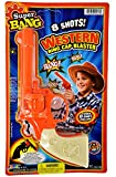JA-RU Cap Gun Western Wild West Super Bang (1 Unit) Quality Plastic Great Bang Party Favors Supplies for Kids. 913-1A