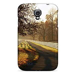 Galaxy S4 Case Slim [ultra Fit] Village Road Protective Case Cover