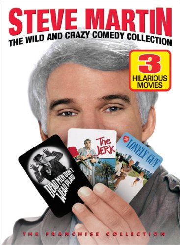 Steve Martin: The Wild and Crazy Comedy Collection (Dead Men Don't Wear Plaid / The Jerk / The Lonely - City Of Macy's Industry