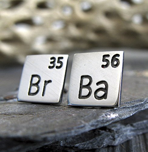 Amazon scientific periodic table elements earrings polished scientific periodic table elements earrings polished sterling silver post studs tv show inspired jewelry urtaz Image collections