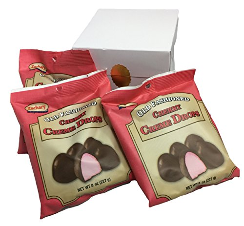 Old Fashioned Cherry Creme Drops in Gift Box (3 Count)