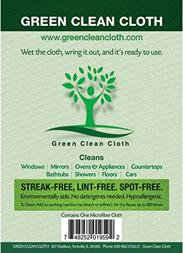 Green Cleaning Cloth - The Green Clean Cloth