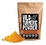 Raw Turmeric Powder, Made From Organically Grown Turmeric Root, Contains Circumin, Single-origin, 100% Natural by Wild Foods Co (12 ounce)