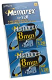 Memorex 120-Minute 8mm Video Tape (2-Pack) (Discontinued by Manufacturer)