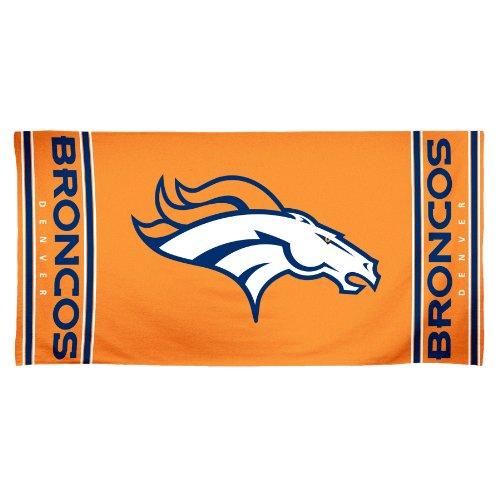 NFL Denver Broncos 30 by 60 Fiber Reactive Beach Towel