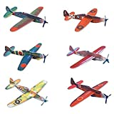 50 Glider planes 8'' Birthday Party Favors War Plane