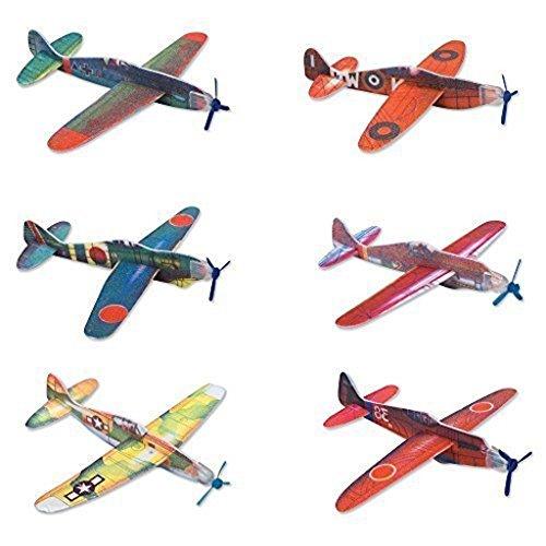 4 X Glider Planes 24 pack