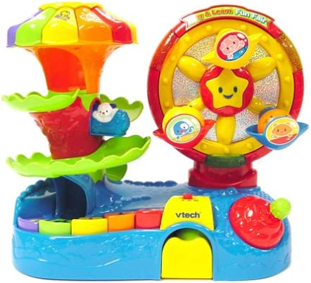 Amazon.com: VTech – Play & Learn Fun Fair: Toys & Games