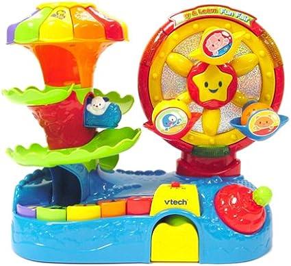 Amazon.com: VTech – Play & Learn Fun Fair: Toys & Games