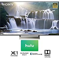 Sony XBR75X850E 75 4K HDR Triluminos UHD LCD Android TV with Google Home Compatibility 3840x2160 & $100 Hulu Gift Card