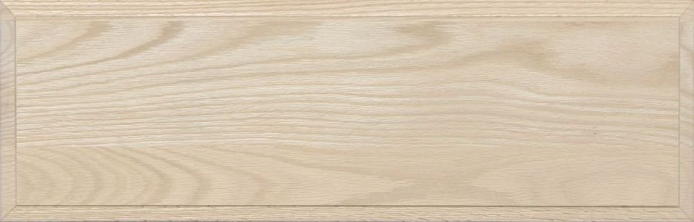 Unfinished Oak Flat Drawer Front with Edge Detail by Kendor 10H x 10W