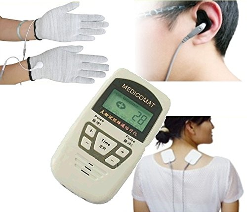 Diabetic Peripheral Neuropathy Treatment Medicomat-10A Painful Diabetic Neuropathy Relief Conductive Gloves by Medicomat