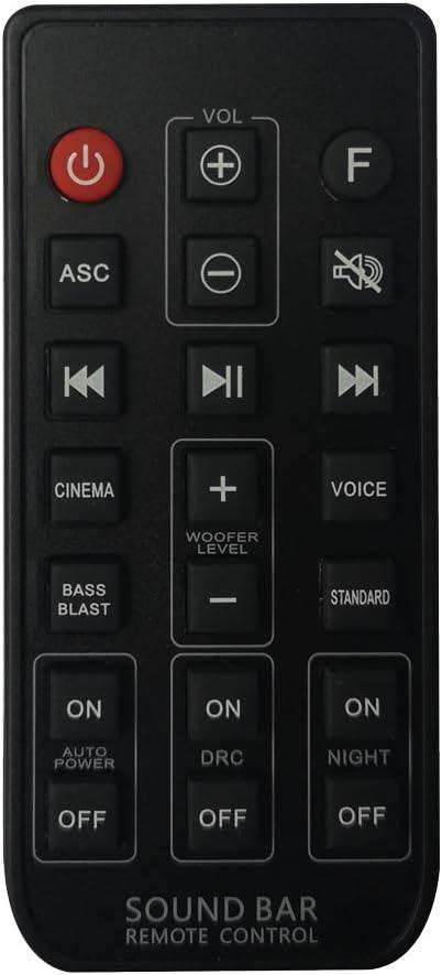 SJ4 SPH4B-W Sound Bar Universal AKB74815371 Remote Control for LG SJ3 SL3D