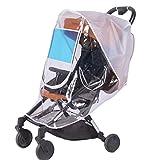 Universal Baby Stroller Weather Shield - Sunshade - Rain Cover - Breathable - Waterproof Umbrella Stroller Wind Dust Shield Cover for Strollers