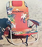 Tommy Bahama Backpack Cooler Chair with Storage Pouch and...