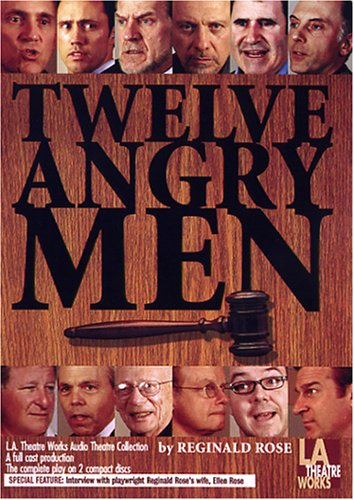 Twelve Angry Men (Library Edition Audio CDs) by L.A. Theatre Works