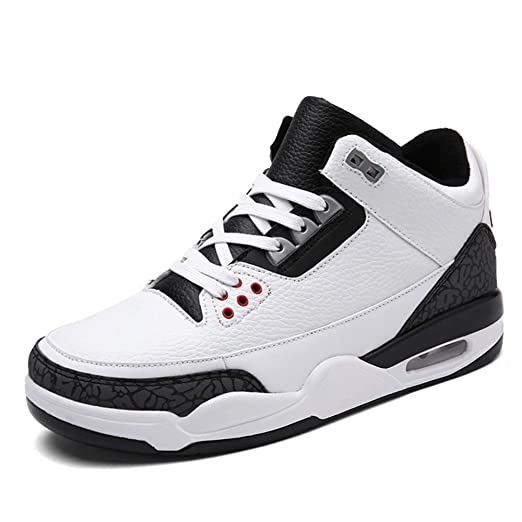 YSZDM Zapatillas de Baloncesto para Hombre, Antideslizantes ...