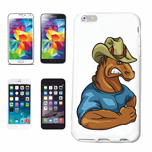 """cas de téléphone iPhone 6S """"CHEVAL DE POIDS DE FORMATION COWBOY HAT BODYBUILDING GYM GYM muskelaufbau SUPPLEMENTS WEIGHTLIFTING BODYBUILDER"""" Hard Case Cover Téléphone Covers Smart Cover pour Apple iPh"""