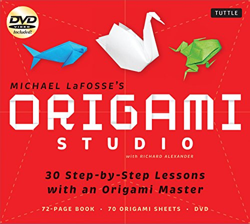 Origami Studio Kit: 30 Step-by-Step Lessons with an Origami Master: Kit with Origami Book, 30 Lessons, 70 Origami Papers and Instructional DVD
