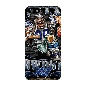 Tough Iphone LrN1873BGmi Case Cover/ Case For Iphone 5/5s(dallas Cowboys)