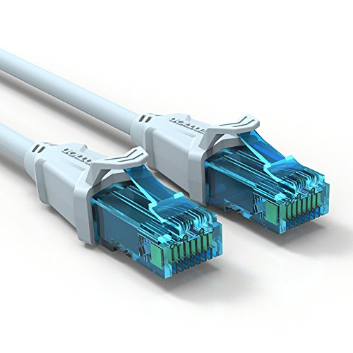 Vention Ethernet Cable RJ45 Network Cable Cat5e Ethernet Patch Cable Computer Networking Cord (1M(3ft))
