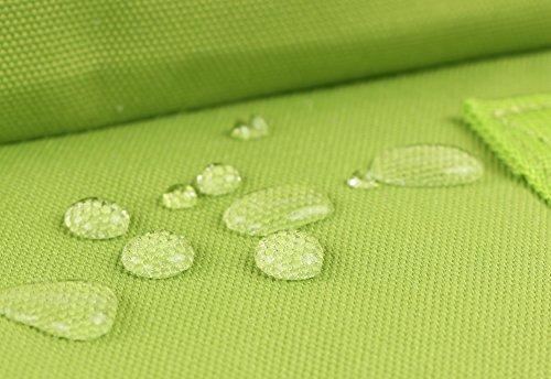 HotStyle Bestie Mochila mujer 14L - Bolsa para pañales impermeable - Verde D141V, AmarilloVerde
