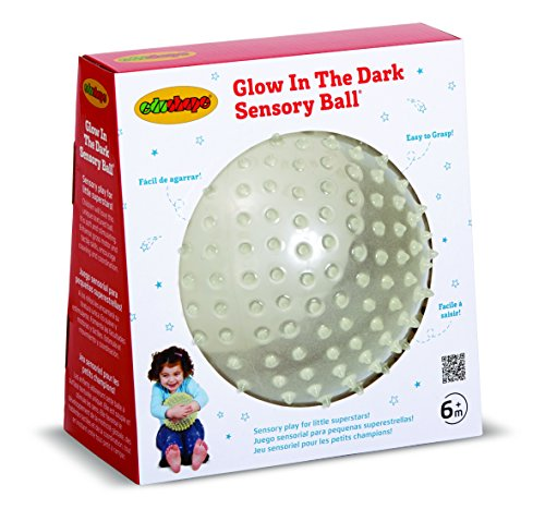 Edushape Glow In The Dark Sensory Ball, 7 Inch (Nighttime Toys)
