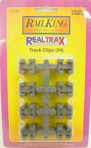 MTH 40-1041 RealTrax Track Clips (24)