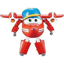 "Super Wings - Transforming Flip Toy Figure | Plane | Bot | 5"" Scale"
