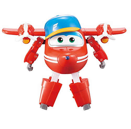 "Super Wings - Transforming Flip Toy Figure | Plane | Bot | 5"" Scale by Super Wings"