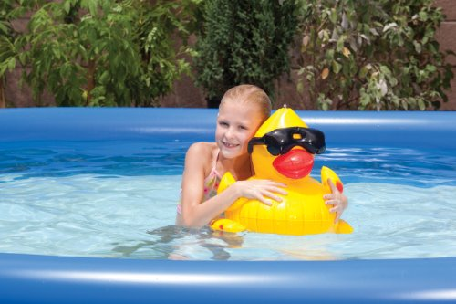 GAME 5001 Inflatable Derby Duck Pool - Sunglasses With Duck