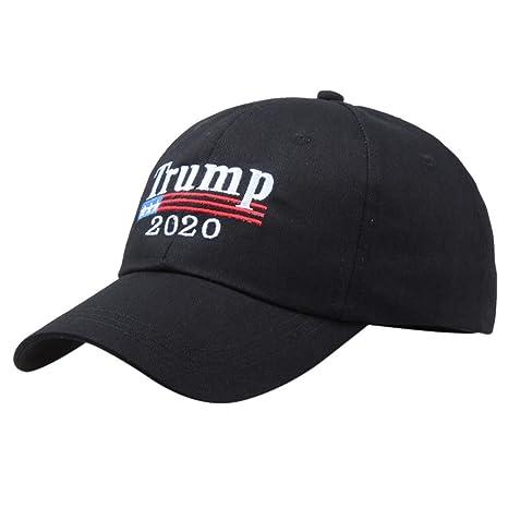 Gorras para Mujer Yesmile ❤ Letras de Make America Great Again Sombrero Ajustable Sombrero de