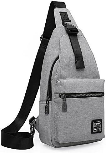ボディバッグ 収納可 iPad対応 通勤 ファスナー付き レジャー 斜め掛け 通学 ショルダーバッグ 男女兼用 KAKA99012