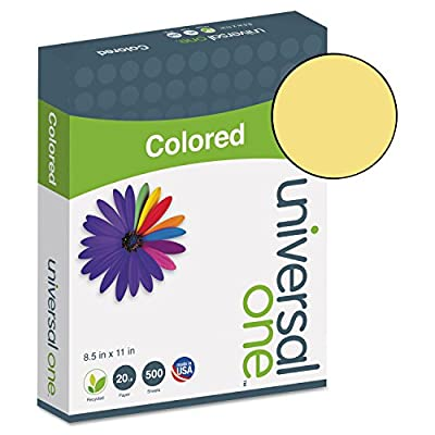 UNV11205 - Universal Colored Paper
